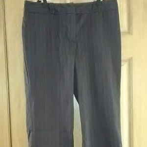 Worthington Capri Cuffed Hemed Pants Sz 14 EUC!